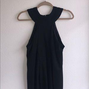 Cynthia Steffe Circle Neck Black Dress
